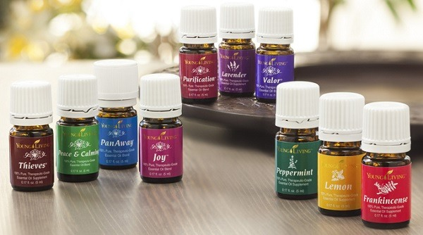 Different type of essential oils